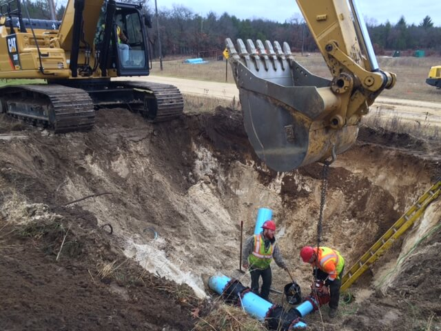 Water & Sewer Construction | Superior WI | Alliance Steel Construction